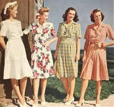 1940s dresses four timelessly lovely 1940s summer dresses 1940s