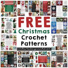 free christmas crochet patterns u2022 oombawka design crochet