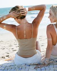 la femme jewelry metallic temporary tattoos 2173455 weddbook