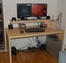 computer desk for 2 monitors 20 the best computer desks for two monitors