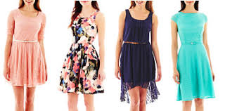 40 dresses at jcpenney