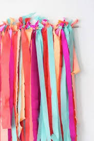 tissue streamers how to make a festive fringe photo backdrop crafts and