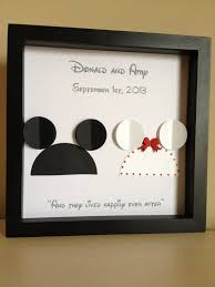 wedding gift one year rule best 25 disney wedding gifts ideas on wedding gift