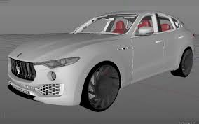 maserati models list 2017 maserati levante 3d model obj 3ds fbx c4d
