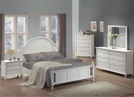 kayla 201181 bedroom in distressed white by coaster w options