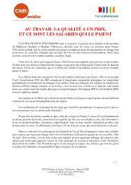 siege cfdt declaration liminaire cfdt medias ftv au ce siege du 21 juin 2017
