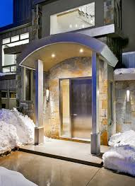 front entrance design entry contemporary with exterior lighting