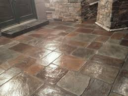 Seamless Stamped Concrete Pictures by Concrete Made To Look Like Real Stone More Than Just