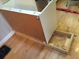 how to install peninsula kitchen cabinets install ikea base cabinets page 1 line 17qq