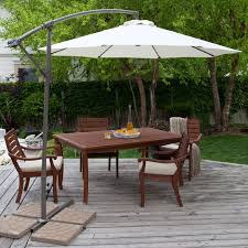 outdoor patio table and 4 chairs 3 piece patio set wooden patio