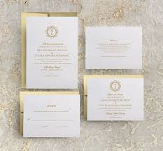 monogram wedding invitations gold monogram wedding invitation gold invitations gold