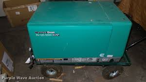 cummins onan rv 5500 generator item dq9049 sold june