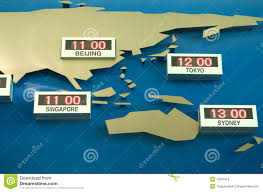 Time Zone Map by World Time Zone Map Royalty Free Stock Photos Image 12931818