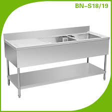 Kitchen Sinks With Drainboard by Stainless Steel Kitchen Sink With Drain Board Stainless Steel