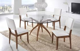 Round Glass Table And Chairs Dining Tables York Furniture Gallery