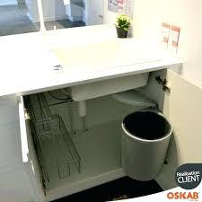 rangement poubelle cuisine meuble pour evier cuisine rangement evier cuisine poubelle pour