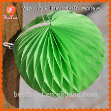 Paper Pineapple Decorations Chinese Pineapple Paper Honeycomb Artificial Flower And Garland