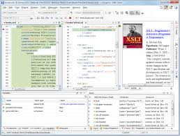 matrix layout xml view xslt debugging perspective oxygen xml editor
