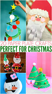 20 paper plate crafts for christmas mamanista