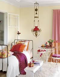 Eclectic Bedroom Design Bedroom Vintage Pink Velvet Tufted Headboard Bed Eclectic Design