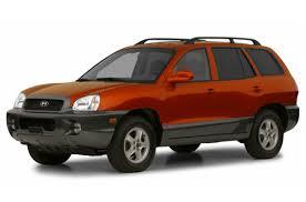 hyundai santa fe 2004 review 2004 hyundai santa fe overview cars com