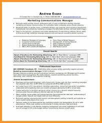 Marketing Communications Manager Resume Marketing Coordinator Resume Sample Starengineering