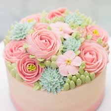 Easy Icing Flowers - best 25 buttercream flower cake ideas on pinterest flower cakes