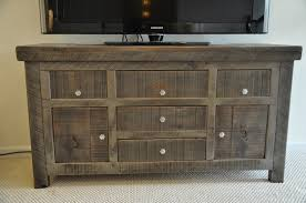 furniture rustic buffet table dining room credenza distressed