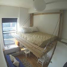 How To Make A Hanging Bed Frame 20 Hanging Bed Ideas Home Decor Diy Ideas