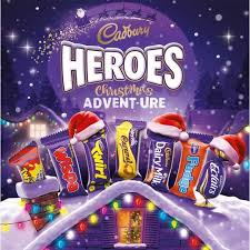 advent calendar cadbury heroes christmas adventure chocolate advent calendar 232g