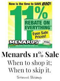 menards price match menards 11 rebates borrowed blessingsborrowed blessings