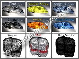 tail light smoke kit smoked headlight film tint overlays vinyl decals stickers lens
