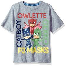 pj masks toddler boys sleeve shirt