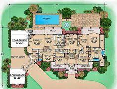 mediterranean mansion floor plans house plan luxury mediterranean coastal home floor plan