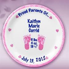birth plates personalized 26 best keepsake baby plates images on baby plates