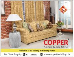 Curtain Stores Copper Curtain And Sofa Fabrics Available At All Leading