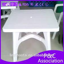 plastic patio table with umbrella hole gccourt house