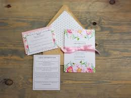 pink peonies and polka dot wedding invitation raspberry creative