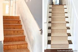 How To Install Banister A Runner Shapes Up A Tired Staircase
