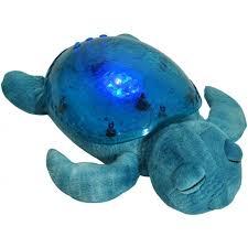 cloud b tranquil turtle night light b tranquil turtle plush lagoon nightlight aqua