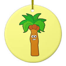 palm trees ornaments keepsake ornaments zazzle