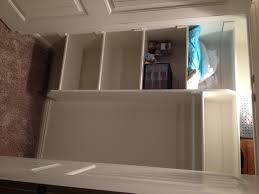 Standard Baseboard Height Closet Shelving Layout Design Thisiscarpentry