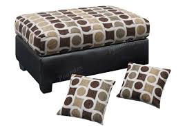 Ottoman Pillows Ottoman W Accent Pillows Ottoman Bobkona Furniture Showroom