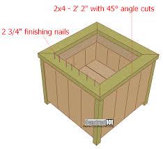 diy planter box build pallet planter boxes u2014 decorationy