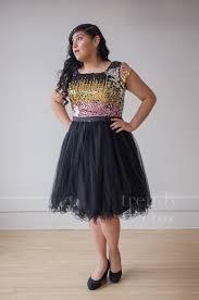 multi black sequined modest knee length dress trendy true