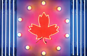 Canadian Flag 1960 Wallace Galleries Ted Godwin