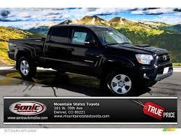 toyota tacoma vs tundra 2014 black toyota tacoma v6 trd sport double cab 4x4 86450472