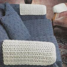 Armchair Arm Covers Uk 43m Crochet Patterns For Watermelon Tablecloth Chair U0026 Sofa Arm