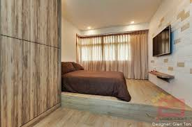 Platform Bed Singapore 10 Stylish Hdb Bedrooms In Singapore You Won T Mind Sleeping In