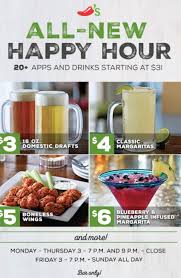 chili s happy hour menu times and prices updated secret menus